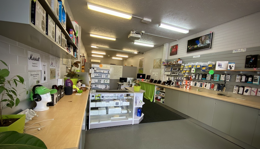 Visit in store at Mullum Mac